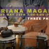 Drum Performance by Adriana Magaña @ Three Phase Center
