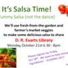 Salsa Making Class @ D.R. Evarts Library