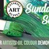 Sunday Session -Winsor & Newton Oil Colour Demonstration @ Catskill Art Supply