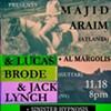Majid Araim / Lucas Brode / Al Margolis / Jack Lynch / Sinister Hypnosis @ Kingston Artist Collective