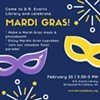Mardi Gras in Athens! @ D.R. Evarts Library