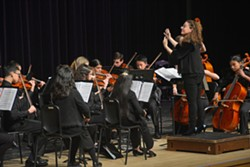 Stringendo Music School's Chaconne Orchestra under the direction of Rachel Handman - Uploaded by String Player