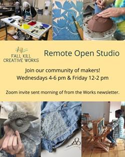 Remote Open Studio - Uploaded by Jessica Murphy