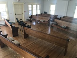 Empty meeting house does not mean empty of spirit - Uploaded by tpw