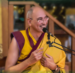 Buddhist Monk Gen Samten Kelsang - Uploaded by Education Coordinator