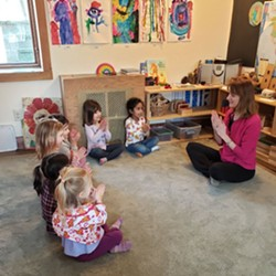 Michelle Wolin is a certified children's yoga and mindfulness instructor. She has a MA in Early Childhood Education, and runs Circle of Friends Preschool in Highland.   Appropriate for ages 5 to 8. - Uploaded by The Living Seed