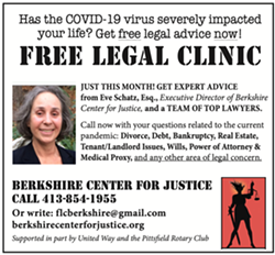 COVID 19 FREE LEGAL CLINIC - Uploaded by CFJ