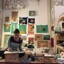 Erica Rosenfeld in Studio - Uploaded by RoCA