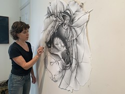 Charlotte Schulz in Studio - Uploaded by RoCA