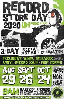Record Store Day 2020 poster - Uploaded by darksiderecordspk