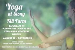 Yoga on the Farm - Uploaded by Stony Kill Foundation