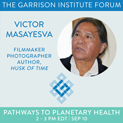 Victor Masayesva: Pathways to Planetary Health Series - Uploaded by KSweeney