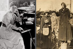 Women's Rights Activists Edna Kearns (left) and Elisabeth Freeman (right). - Uploaded by Juneemoon
