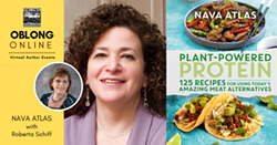 Nava Atlas event for PLANT-POWERED PROTEIN - Uploaded by Oblong Books