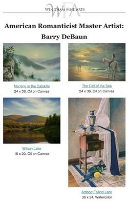 American Romanticist Master Artist: Barry DeBaun - Uploaded by Windham Fine Arts