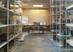 Interior view of the SMHF Architectural Archive and Research Library, Rhinebeck, New York. - Uploaded by 'T' Space