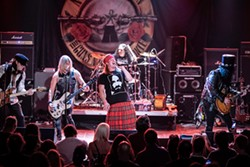 Guns N' Roses tribute band Nightrain will perform at the Orange County Fair at 8 pm July 30. - Uploaded by caronconway