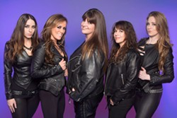 Iron Maiden tribute band The Iron Maidens will perform at the Orange County Fair at 8 pm July 31. - Uploaded by caronconway