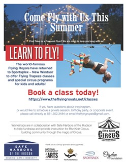 Come Fly With Us! - Uploaded by Safe Harbors on the Hudson