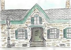 Persen House illustration - Uploaded by khuggins