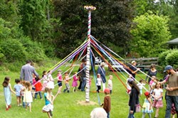 Maypole Dancing at Primrose Hill School Spring Faire - Uploaded by Administration Primrose Hill School