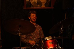 Percussionist Leo Yucht will be joined by Bob Bruya on bass, Thomas Linger on keyboard, and Daniel Berkey on tenor saxophone at Sage City Symphony's Jazz Brunch on May 18. - Uploaded by Sage City Symphony