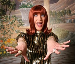 Drag Legend, Miss Coco Peru, will appear LIVE at SUNY New Paltz during Hudson Valley PRIDE Week on Sat., June 1st. - Uploaded by SHengst