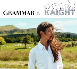 GRAMMAR Trunk Show at KAIGHT - Uploaded by grammarnyc