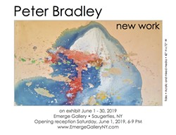Peter Bradley: New Work - Uploaded by EmergeGalleryNY
