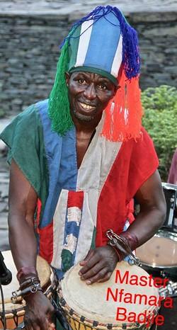 From Gambia West Africa Master Nfamara Badjie - Uploaded by Gumba77