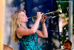 Bria Skonberg and her band will be performing at PS21 July 19. - Uploaded by Amelinckx