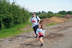 Last year's 5k Orchard Run - Uploaded by fishkillfarms