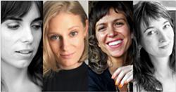 Domenica Ruta, Nina Boutsikaris, Courtney Maum, Stacy Wakefield - Uploaded by Hallie Goodman
