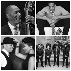 Ron Carter, Javon Jackson, The Baylor Project and Spanish Harlem Orchestra - Uploaded by Dylan McCarthy
