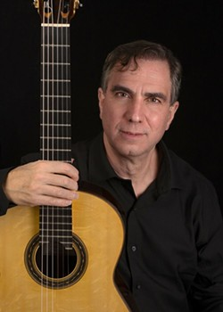Classical Guitarist Charles Mokotoff - Uploaded by Pacem in Terris