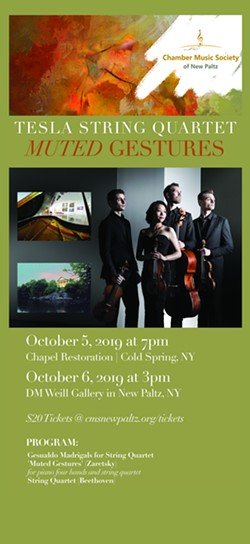 Chamber Music concert - Uploaded by CMS New Paltz