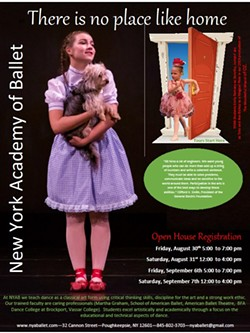 The Wonderful Wizard of OZ at the Bardavon performed June 2018 - Uploaded by NYAB