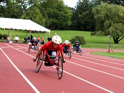 Burke Rehabilitation Hospital will hold the 40th annual Wheelchair Games on Sept. 21, 2019. - Uploaded by Andrew West