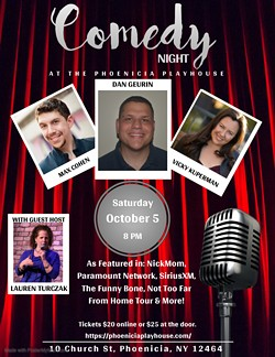 Comedy Night in Phoenicia! - Uploaded by maxvicky