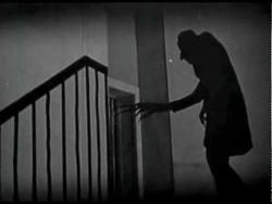 Max Schreck plays the evil vampire Count Orlac – aka Nosferatu – in Murnau's landmark horror film. - Uploaded by Rosendale Theatre