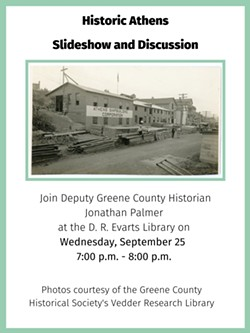 Historic Athens Slideshow & Discussion: September 25th, 2019 - Uploaded by D.R. Evarts Library