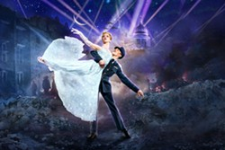 Sadler's Wells Ashley Shaw and Andrew Monaghan are lovers in WWII torn London in Matthew Bourne's radical retelling of the beloved fairytale. - Uploaded by Rosendale Theatre