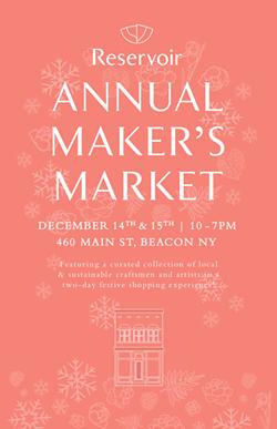 Reservoir's 6th Annual Makers' Market in Beacon, NY - Uploaded by Erin Murphy Doan