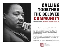 Martin Luther King Day Celebration at Zen Mountain Monastery - Uploaded by ZMM