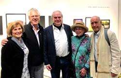 Wendy and Julian Lines with Esalen founder, Michael Murphy, Ellen McDermott and President Emeritus, Robert McDermott, California Institute of Integral Studies - Uploaded by Julian Lines