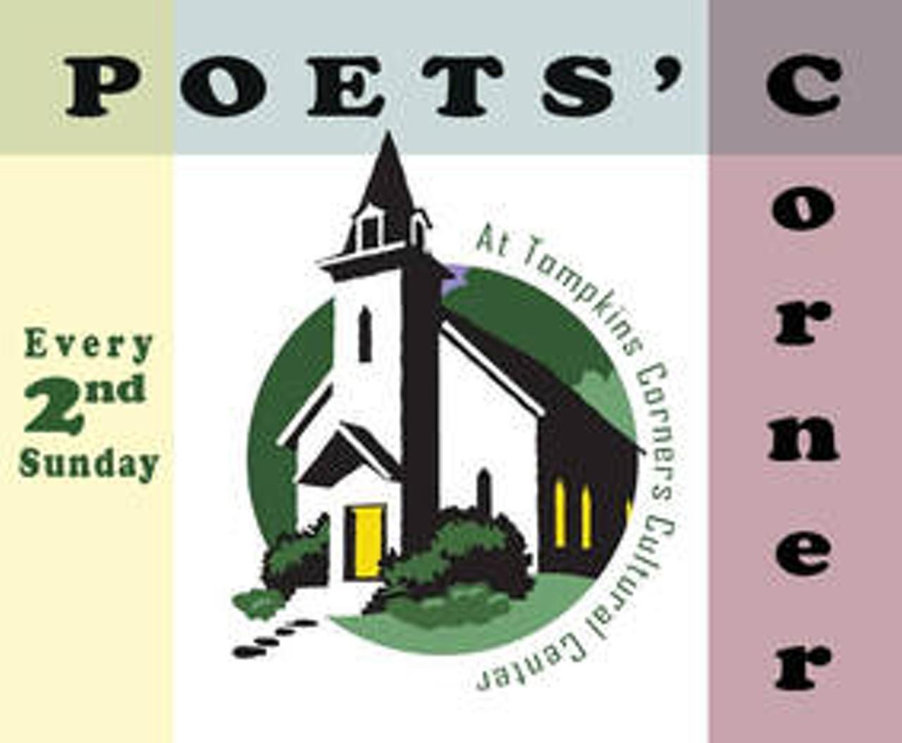 Poets' Corner Open Mike: George Kraus   Tompkins Corners