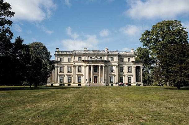 Vanderbilt Mansion in Hyde Park - DAVID MORRIS CUNNINGHAM