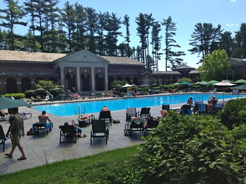 Victoria Pool at Saratoga Spa State Park