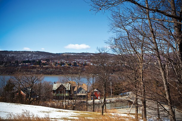 View of the Hudson near the Garrison Train Station and Garrison Art Center. Photo by Julie Platner.