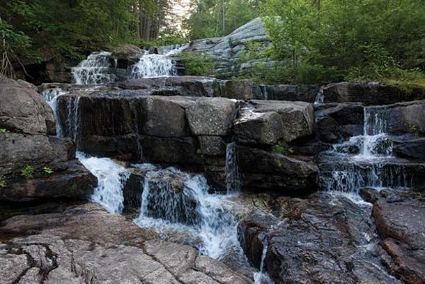 Waterfall at the old Smitty's Ranch, High Falls. - ERIC FRANCIS COPPOLINO